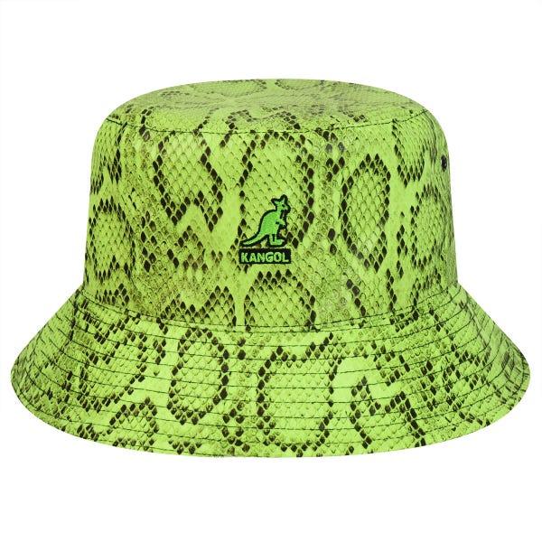 送料無料 KANGOL カンゴール メンズ 男性 国内在庫 Snakeskin Bucket バケットハット サファリハット 夏 帽子 全商品オープニング価格 夏用 大きいサイズ 収納 日よけ 汗 折りたたみ キャップ ハイ メッシュ XL アウトドア ブランド UV 大きめ