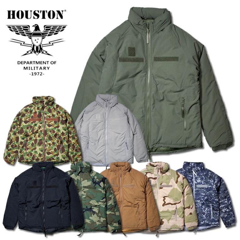 父の日 クーポンで10%OFF◆HOUSTON 米軍 ジャケット アウトドア Gen III Level 7 メンズ WIP ギフト ミリタリー プレゼント 50323 ヒューストン