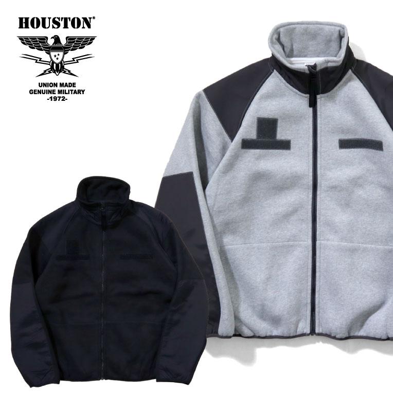 2019A/W『HOUSTON/ヒューストン』21713 HEAVY SWEAT LEVEL3 JACKET / ヘビースウェットレベル3ジャケット -全2色-/ミリタリー/400Gスウェット/MILITARY/ユニオンネットストア[21713]