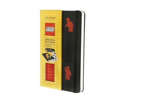 Moleskine LEGO Limited Edition Notebook, Large, Plain, Black, Hard Cover (5 x 8.25) (Limited Editions)