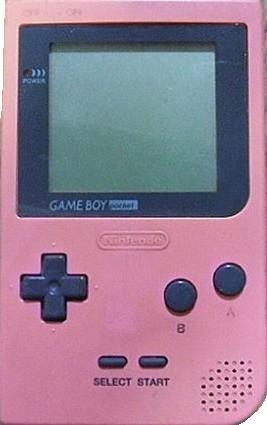 ゲームボーイポケット ピンク