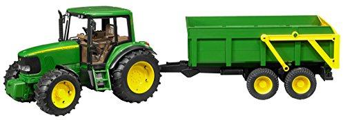bruder(ブルーダー) JD6920 トラクター&グリーントレーラー BR02058