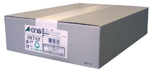 エーワン パソコン&ワープロ ラベル シール プリンタ兼用 10面 500枚 28732