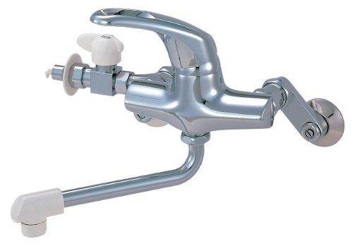 三栄水栓 【キッチン用混合栓】 シングル分岐混合栓 CK1761D