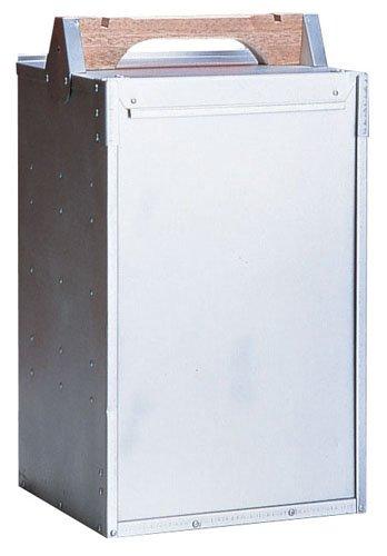 アルミ出前箱(岡持ち) 縦3段(3ヶ入) 間口260mm×奥行250mm×高さ320mm