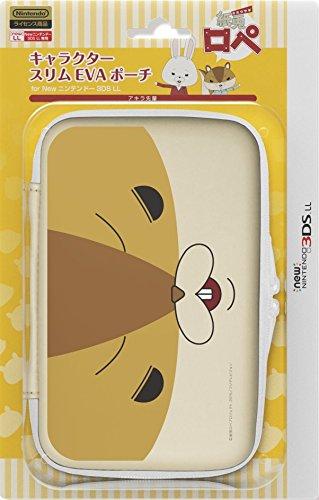 任天堂公式ライセンス商品 キャラクタースリムEVAポーチ for Newニンテンドー3DSLL アキラ先輩 紙兎ロペ un 高級品 商店