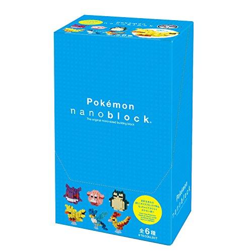 ナノブロック ミニポケットモンスターEX シリーズ01 BOX NBMPM 04S BOX商品 1BOX6個入り、全6種類 unOZTPkXiu