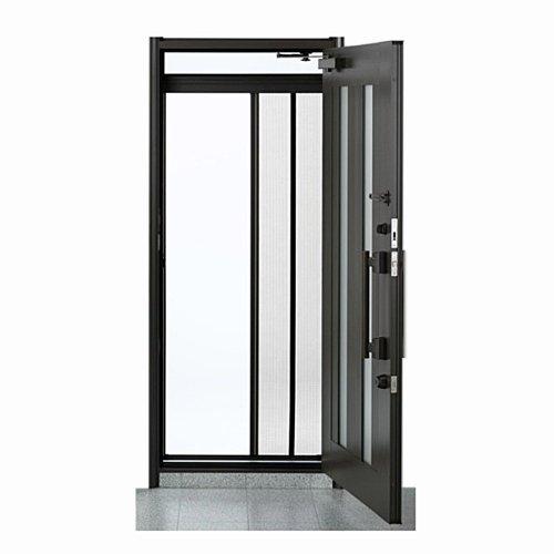 川口技研 ドア用網戸 スリム型 ロータリー網戸 SRB-1