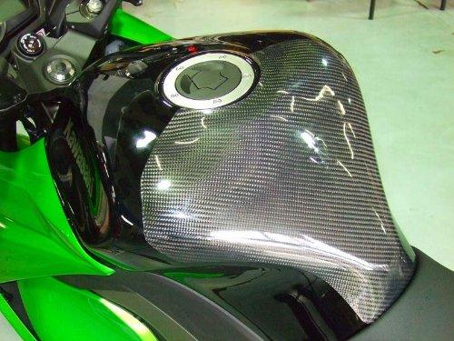 クレバーウルフレーシング(CLEVER WOLF Racing) タンクプロテクター 平織 CFRP/カーボン NINJA1000[Z1000SX](11-) NI10-108-02