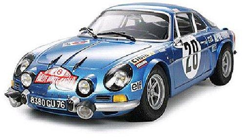 タミヤ 1/24 スポーツカーシリーズ アルピーヌ ルノーA110 モンテカルロ'71[cb]