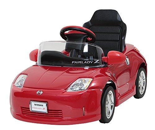 ミズタニ 電動バッテリーカー フェアレディZ レッド Z33-B[cb]
