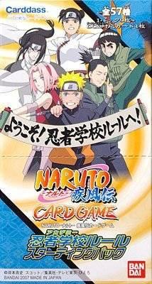 NARUTO -ナルト 疾風伝 カードゲーム 忍者学校ルール スターティングパック BOX[cb]
