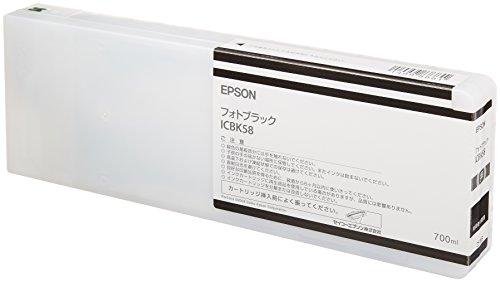 セイコーエプソン インクカートリッジ フォトブラック 700ml (PX-H10000/H8000用) ICBK58[cb]