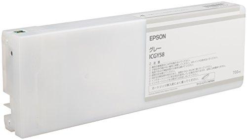 セイコーエプソン インクカートリッジ グレー 700ml (PX-H10000/H8000用) ICGY58[cb]