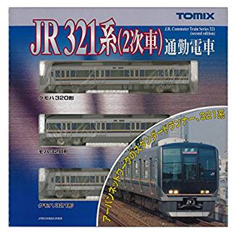 TOMIX Nゲージ 321系 2次車 基本セット3両 92358 鉄道模型 電車[cb]