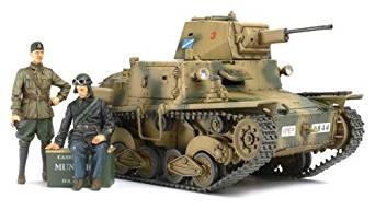 タミヤ スケール限定シリーズ 1/35 イタリア 軽戦車 L6/40 89783[cb]
