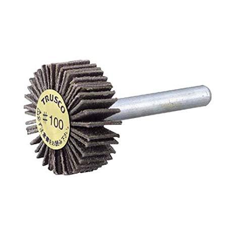TRUSCO(トラスコ) ダイヤ軸付フラップホイール オールダイヤ Φ50X軸径6 180# P-DF5020-6A-180[cb]