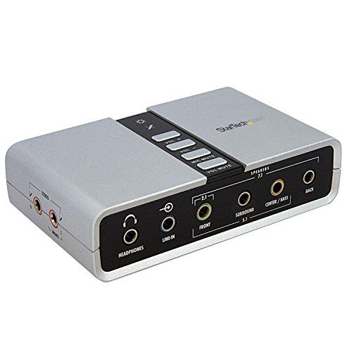 StarTech.com 7.1ch対応USB-DACヘッドホンアンプ 輸入 S PDIF対応 8x 3.5mmトスリンク角型コネクタ 3.5mmミニジャック 入荷予定 cb 2x ICUSBAUDIO7D