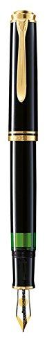 ペリカン 万年筆 F 細字 黒 スーベレーン M600 正規輸入品