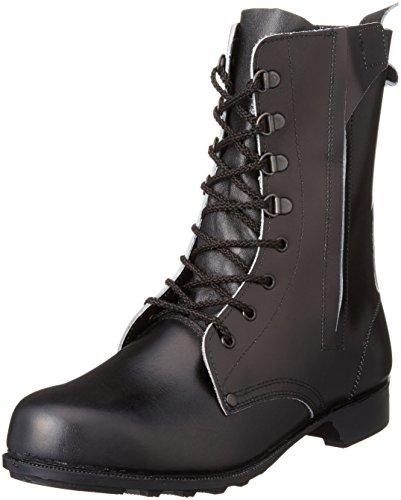 [ドンケル] 安全靴 ブーツ チャック付き JIS T8101革製S種合格(V式) 604T 604T ブラック ブラック 27