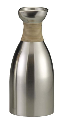 大阪錫器(すずき) 大阪浪華錫器 伝統工芸 酒器 錫の燗器 上燗徳利 1.4 10-6-1