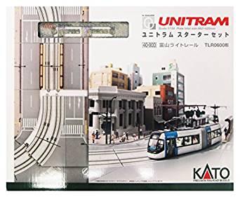 KATO Nゲージ ユニトラムスターターセット 富山ライトレールTLR0600形 40-900 鉄道模型入門セット[cb]