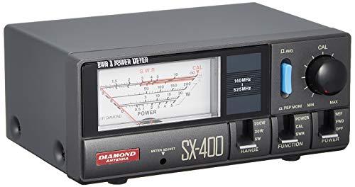 第一電波工業 ダイヤモンド SX400 通過型SWR・パワー計 140~525MHz SX400[cb]