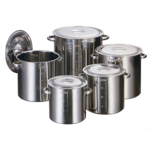 AG 18-8 保証 目盛付 寸胴鍋 本物◆ 30cm