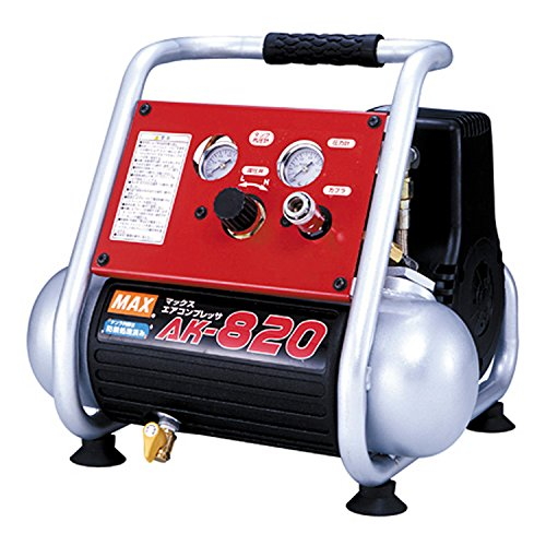マックス(MAX) 常圧専用エアコンプレッサ AK-820[cb]
