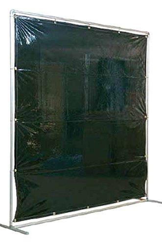 吉野 遮光フェンスアルミパイプ 2×2 単体固定 ダークグリーン YS22SFDG[cb]