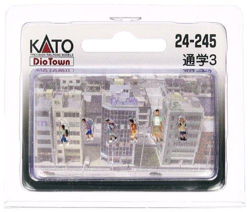 人気急上昇 KATO 売れ筋 Nゲージ 通学3 ジオラマ用品 cb 24-245