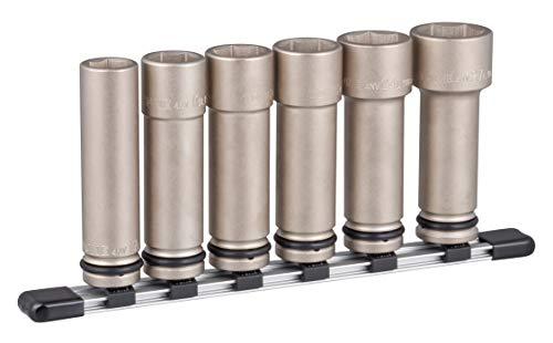 トネ(TONE) インパクト用超ロングソケットセット(ホルダー付) HNV406LL 差込角12.7mm(1/2