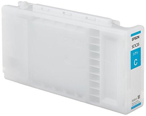セイコーエプソン SureColor用 インクカートリッジ/350ml(シアン) SC1C35[cb]