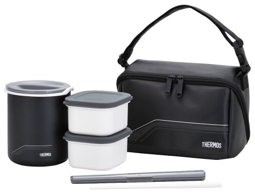 サーモス メーカー公式ショップ 保温弁当箱 1合 BK 公式サイト DBQ-501 ブラック