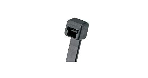 パンドウイット ナイロン結束バンド 耐熱耐候性黒 幅4.8mm 長さ188mm 1000本入り PLT2S-M300[cb]