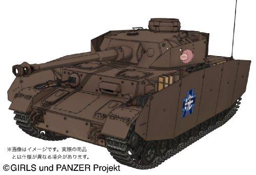 プラッツ ガールズ&パンツァー IV号戦車D型 (H型仕様) -あんこうチームver.- 1/35スケール プラモデル[cb]