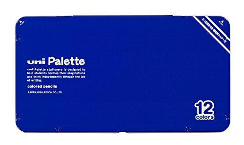 三菱鉛筆 色鉛筆 890 ユニパレット cb 販売期間 限定のお得なタイムセール 青 12色 最安値に挑戦 K89012CPLTH33