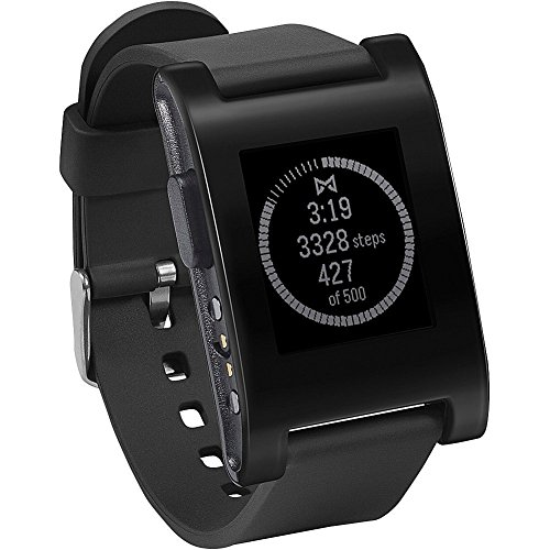 Pebble E-Paper Watch for iPhone and Android 【Kickstarterエディション】 (ブラック)並行輸入品[cb]