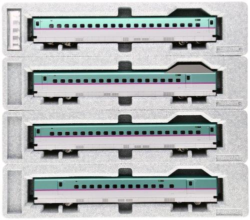 KATO HOゲージ E5系 新幹線 はやぶさ 増結 4両セット 3-518 鉄道模型 電車[cb]