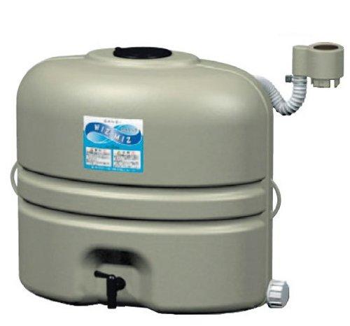 SANEI 地上設置型雨水タンク 有効タンク容量110L グレー EC2010AS-H-60-110L[cb]