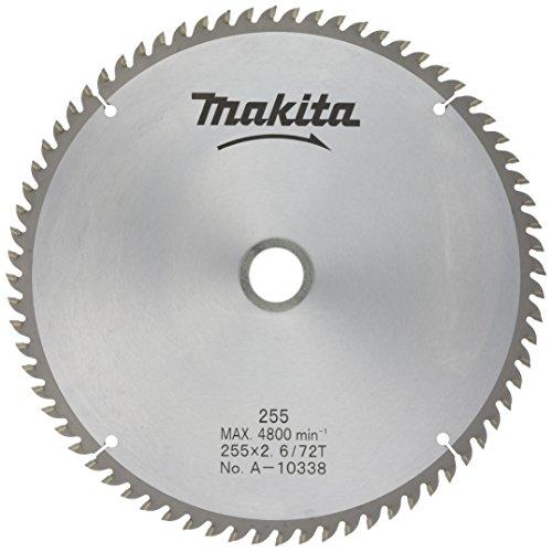 マキタ(Makita) チップソー 一般木工用 マルノコ盤・パネルソー用 A-10338 外径255mm 刃数72T[cb]