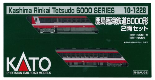 KATO Nゲージ 鹿島臨海鉄道6000形 2両セット 10-1228 鉄道模型 ディーゼルカー[cb]