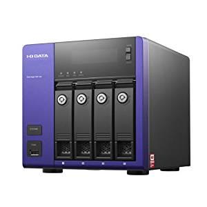 アイ・オー・データ機器 WD Red搭載 Windows Storage Server 2012 R2 Workgroup Edition 4ドライブNAS 4TB HDL-Z4WM4C2[cb]