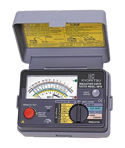 共立電気計器 (KYORITSU) キューメグアース アナログ絶縁・接地抵抗計 model.6018[cb]
