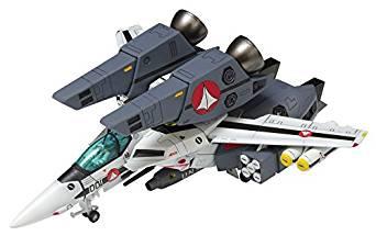 WAVE 1/100 超時空要塞マクロス VF-1S スーパーバルキリー ファイター ロイ・フォッカー仕様 プラモデル[cb]