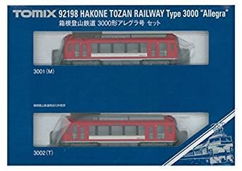 TOMIX Nゲージ 箱根登山鉄道 3000形 アレグラ号セット 92198 鉄道模型 電車[cb]