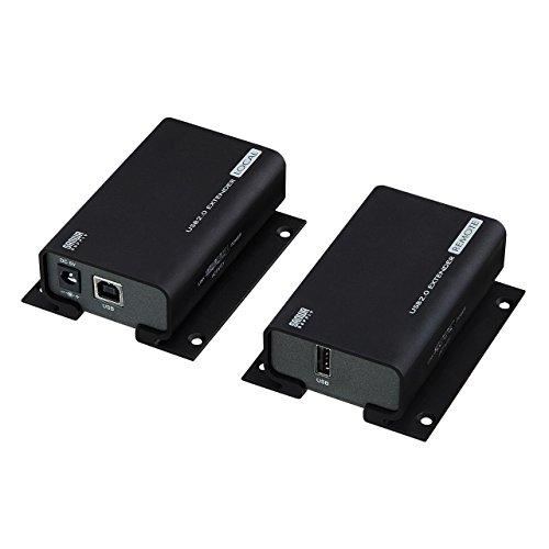 サンワサプライ USB2.0エクステンダー USB-EXSET1[cb]