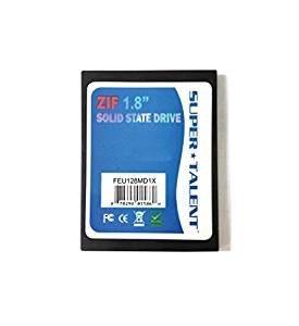 スーパータレント IDE/ZIF 1.8インチSSD 64GB MLC FEU064MD1X[cb]