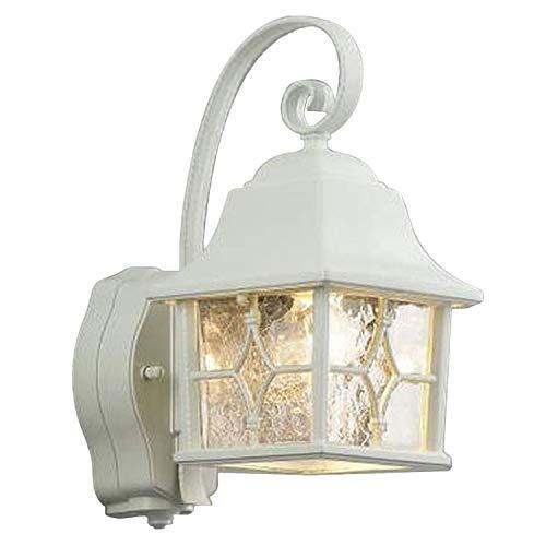 コイズミ照明 防雨型ブラケット人感センサ付(白熱球60W相当)白色 AU42404L[cb]