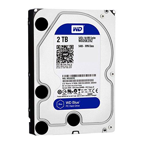 WD HDD 内蔵ハードディスク 3.5インチ 2TB WD Blue WD20EZRZ-RT SATA3.0 5400rpm 2年保証[cb]